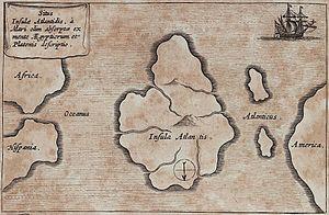 Atlantis_Kircher_Mundus_subterraneus_1678